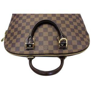 Louis Vuitton Bags - LOUIS VUITTON ALMA DAMIER EBENE SATCHEL BAG BROWN